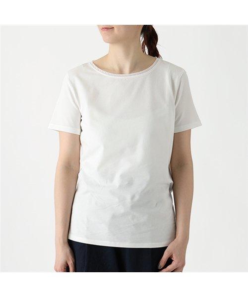 MAX MARA WEEKEND マックスマーラ ウィークエンド 59710597 MULTIC ストレッチコットン クルーネック 半袖 Tシャツ 001
