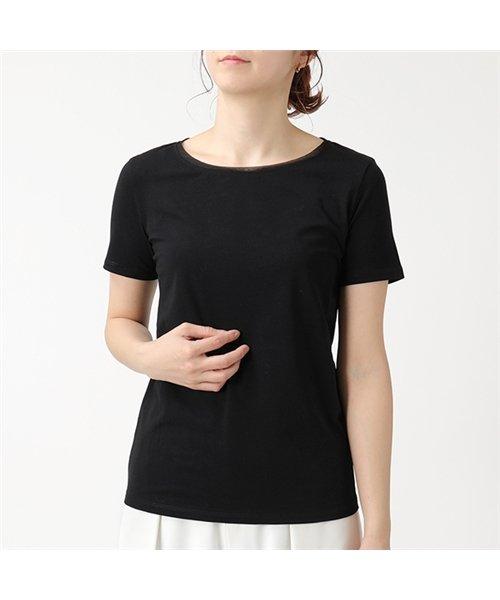 MAX MARA WEEKEND マックスマーラ ウィークエンド 59710597 MULTIC ストレッチコットン クルーネック 半袖 Tシャツ 003