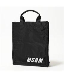 MSGM/2642 MDZ235 ナイロン トートバッグ ショッピングバッグ クラッチ 99 メンズ/502672115