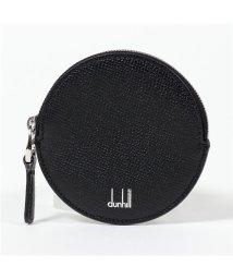 dunhill/DU18F2001CA CADOGAN レザー サークル型 小銭入れ コインケース 001/BLACK メンズ/502672178