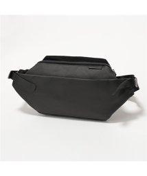 Cote&Ciel/28395 ISARAU Coated Canvas ボディバッグ ウエストポーチ ベルトバッグ Black/502672196