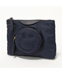ANYA HINDMARCH/108171 Pouch Chubby Wink ナイロン ポーチ バッグインバッグ Marine レディース/502672221