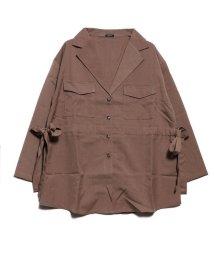 STYLEBLOCK/スタイルブロック STYLEBLOCK サイドストリングジャケット (モカ)/502674691