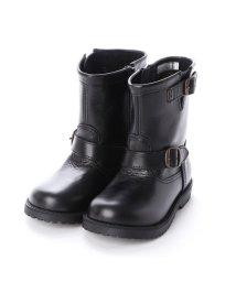 YOSUKE/ヨースケ YOSUKE キッズアイテム [直営SHOP限定モデル]本革ブーツ (ブラック)/502674702