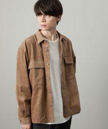 JUNRed/コーデュロイCPOシャツ/502676001