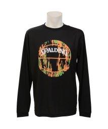 SPALDING/スポルディング/L/S Tシャツ-マーブルボール/502676619