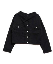 STYLEBLOCK/スタイルブロック STYLEBLOCK バックボタンゆるジャケット (ブラック)/502677104