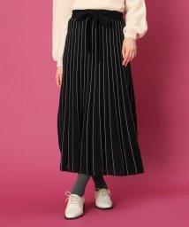 Couture Brooch/【WEBサイズ(LL)あり】ウエストリボンニットスカート/502677563