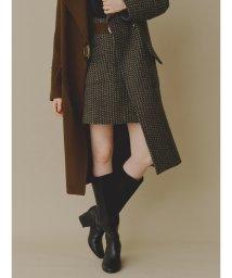 Lily Brown/ツイード台形スカート/502678087