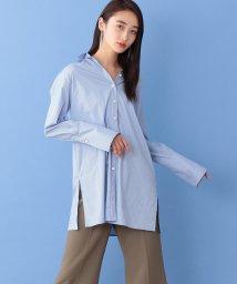 CAST:/【Oggi10月号掲載】ロングカフス ストライプシャツ/502678786