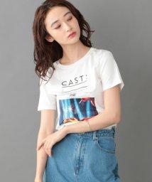 CAST:/【カットソー人気NO.1】バースデーケーキTシャツ 【FRONTプリント】/502678818