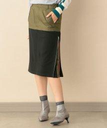 CAST:/マテリアルコンビジップスカート/502678853