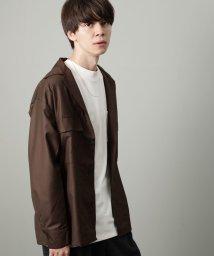 JUNRed/TRダブルフラップポケットシャツ/502600102