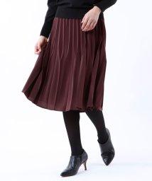 TRANSWORK/*Marisol掲載*【ウォッシャブル】マイクロパウダリースカート/502639875