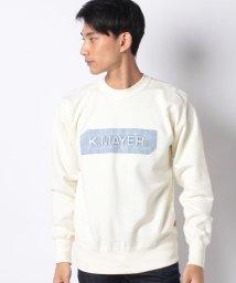 KRIFF MAYER/裏起毛スウェット(エンボス)/502651866