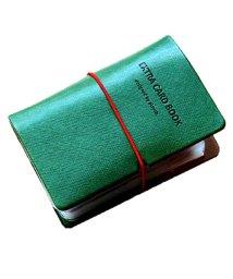 exrevo/カードケース 名刺入れ レディース 縦入れ 30ポケット 両面収納 大量収納 クリア シンプル 革 レザー ポイントカード インデックス付 かわいい  ギフト /502677366