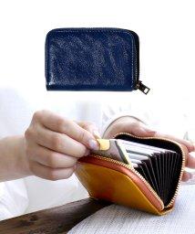 exrevo/カードケース じゃばら かわいい スリム 薄型 大容量 レディース メンズ カード入れ シンプル 「PUレザー ジャバラ 名刺入れ」 革 ポイントカード 大容量/502677379