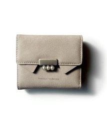 exrevo/財布 レディース 二つ折り「ねこ モチーフ ミニ財布」 カード収納 かわいい 猫 財布 雑貨 プレゼント 二つ折り財布 小銭入れあり おしゃれ 革  /502677475