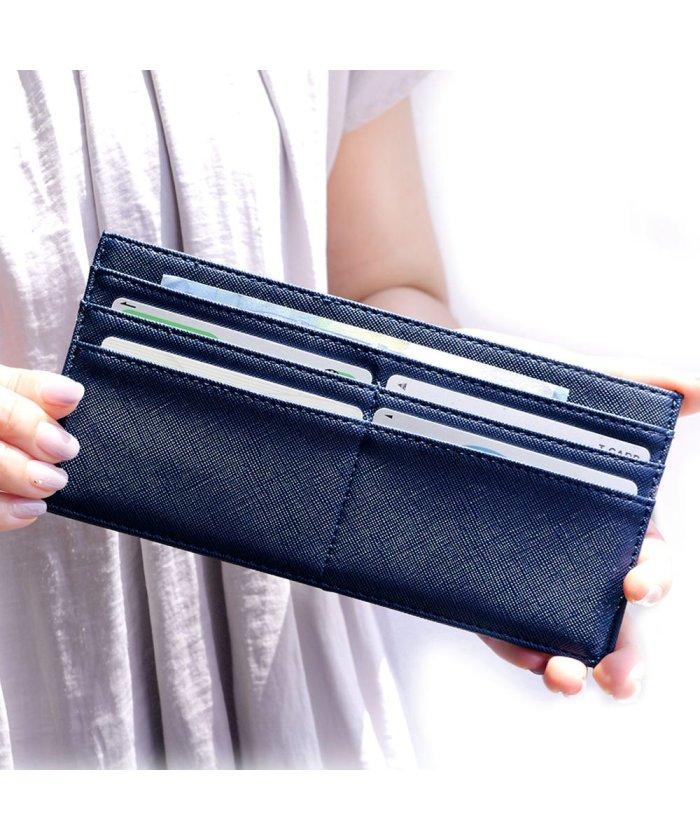 長財布 レディース 軽い 薄い 「カードケース 極薄 財布 ロング」 通帳ケース 通院 家計 仕分け スリム カード入れ 小銭入れ 結婚式 金運 メンズ おしゃ