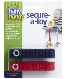 Baby Buddy/Baby Buddy ベビーバディ おもちゃストラップ2色各1本組 ネイビー/レッド/502677584