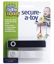 Baby Buddy/Baby Buddy ベビーバディ おもちゃストラップ2色各1本組 ブラック/ホワイト/502677585