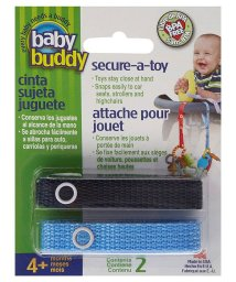 Baby Buddy/Baby Buddy ベビーバディ おもちゃストラップ2色各1本組 ネイビー/ブルー/502677587