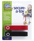 Baby Buddy/Baby Buddy ベビーバディ おもちゃストラップ2色各1本組 レッド/ブラック/502677591