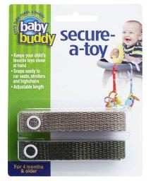 Baby Buddy/Baby Buddy ベビーバディ おもちゃストラップ2色各1本組 タン/オリーブ/502677593