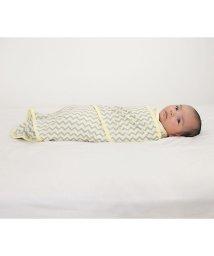 Miracle Blanket/Miracle Blanket ミラクルブランケット ミラクルブランケット グレーシェブロン×イエロー/502677846
