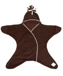 Tuppence & Crumble/Tuppence & Crumble タッペンスアンドクランブル 星型アフガン スターラップ 11-18M チョコレート/502677944