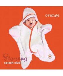 Tuppence & Crumble/Tuppence & Crumble タッペンスアンドクランブル 星型アフガン スターラップ スプラッシュクラブ Starsnug 0-4M オレンジ/502677985