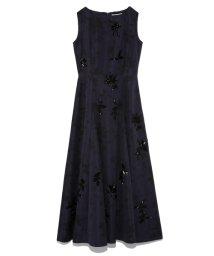 CELFORD/フラワープリント刺繍ドレス/502680312