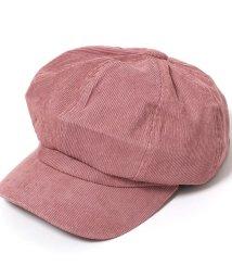REAL STYLE/コーデュロイシンプルキャスケット帽/502681087