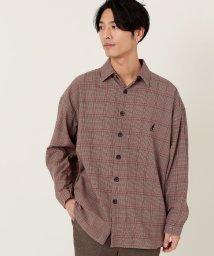 coen/【WEB限定】KANGOL別注ブリティッシュチェックスーパービッグシャツ/502681160