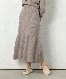 Cheek/マーメイドラインニットスカート/502596476