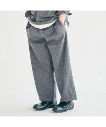 TRUNIKA/WIDE TUCK PANTS 10分丈/502615806