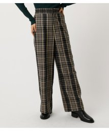 AZUL by moussy/CHECK WIDE PANTS/502682583