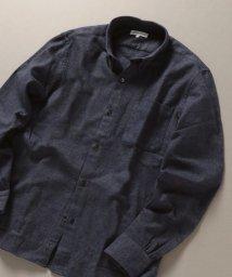 SHIPS JET BLUE/SHIPS JET BLUE: ボタンダウン ネルシャツ ソリッド/502685491