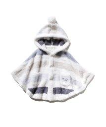 gelato pique Kids&Baby/【BABY】'パウダー'5ボーダー baby ポンチョ/502685681