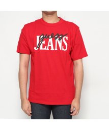 GUESS/ゲス GUESS GUESS Originals 1981 OVERSIZED SCRIPT LOGO TEE (VARSITY RED)/502685864