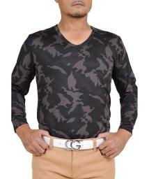 SantaReet/体感温度+3℃!!裏起毛で暖かい本格派ヒートタイプVネックシャツ(NF-NEK17)/502685978
