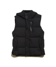 GUESS/ゲス GUESS HOODED DOWN VEST (BLACK)/502686785