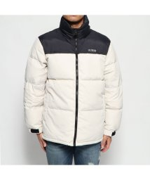 GUESS/ゲス GUESS 2TONE DOWN JACKET (LIGHT GREY)/502686792