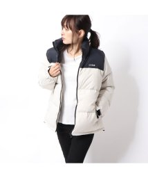 GUESS/ゲス GUESS 2TONE DOWN JACKET (LIGHT GREY)/502686805