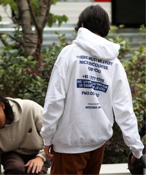 JOURNAL STANDARD(ジャーナルスタンダード)/【MISHIMA MART】プリント フーディー/19070610020630