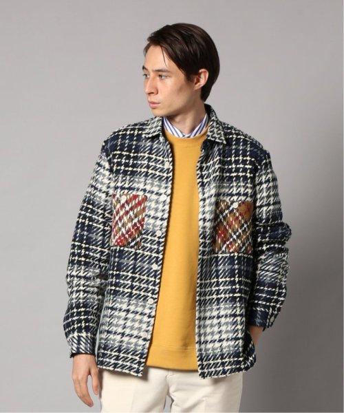 EDIFICE(エディフィス)/WAX LONDON / ワックスロンドン バスケットチェックシャツ/19050310302030