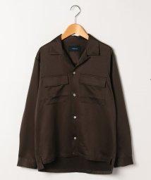 Collective/コットンオープンカラーシャツ/開襟シャツ/501993342