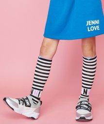 JENNI love/ボーダーハイソックス/502623254