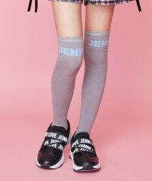 JENNI love/ロゴニーハイソックス/502623258