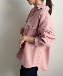 ROPE' mademoiselle/ウールフラノCPOシャツジャケット/502625014